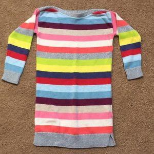 Baby Gap Girls Stripe Sweater dress